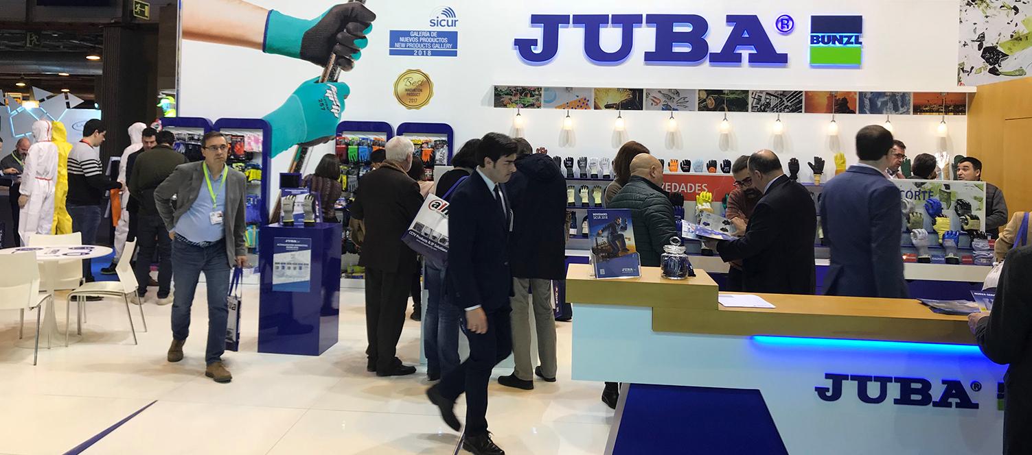 Gran éxito de JUBA en SICUR