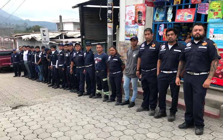 JUBA se suma a las ayudas en Guatemala