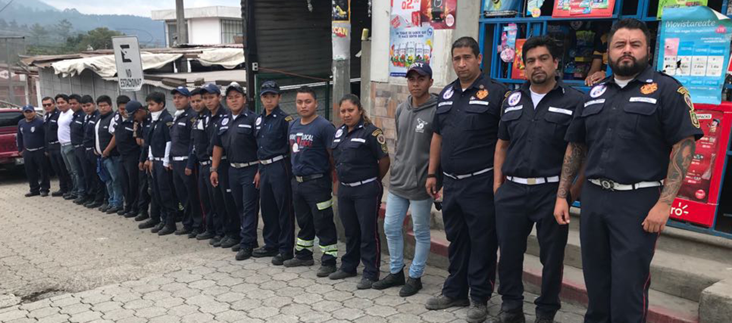 JUBA PARTICIPE A L'AIDE AU GUATEMALA