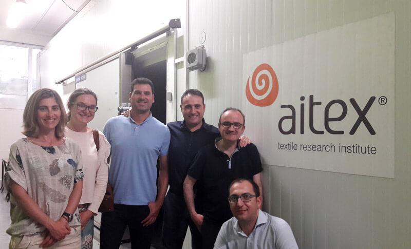 Visitamos AITEX