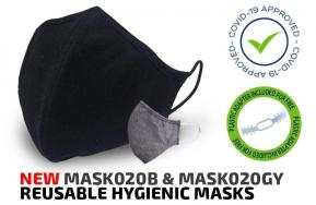 Reusable hygienic mask against covid-19