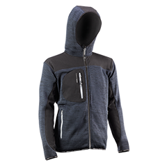 Jacket with hood - 2897DN KARAVIA