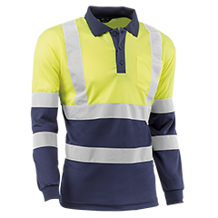 Polo tops - HV720BCMLTAZUL GALES