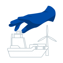 Naval, wind-power and aeronautical construction